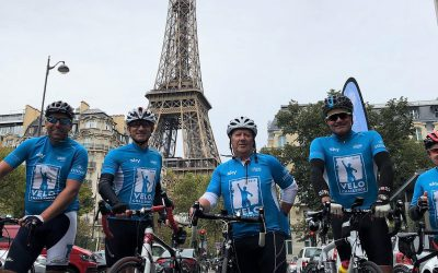 Crystaltech MD Takes on London – Paris Charity Cycle Ride!