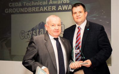 Crystaltech Wins CEDA Groundbreaker Award