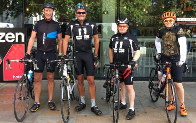 Crystaltech MD Raises Money for Charity with Pedal Power