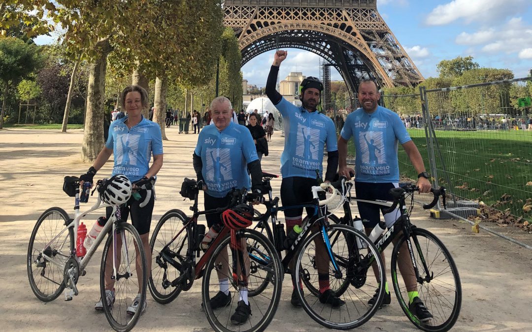 London to Paris Charity Bike Ride Exceeds Fundraising Goals for Crystaltech MD!